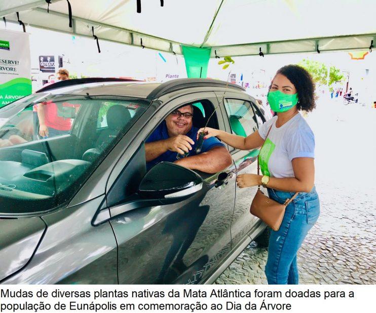 Dia da Árvore: Doação de mudas incentiva arborização em Eunápolis 34