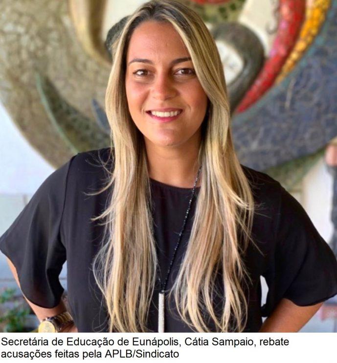 Secretária de Educação rebate acusações da APLB quanto a participação do sindicato nas decisões da área educacional 23