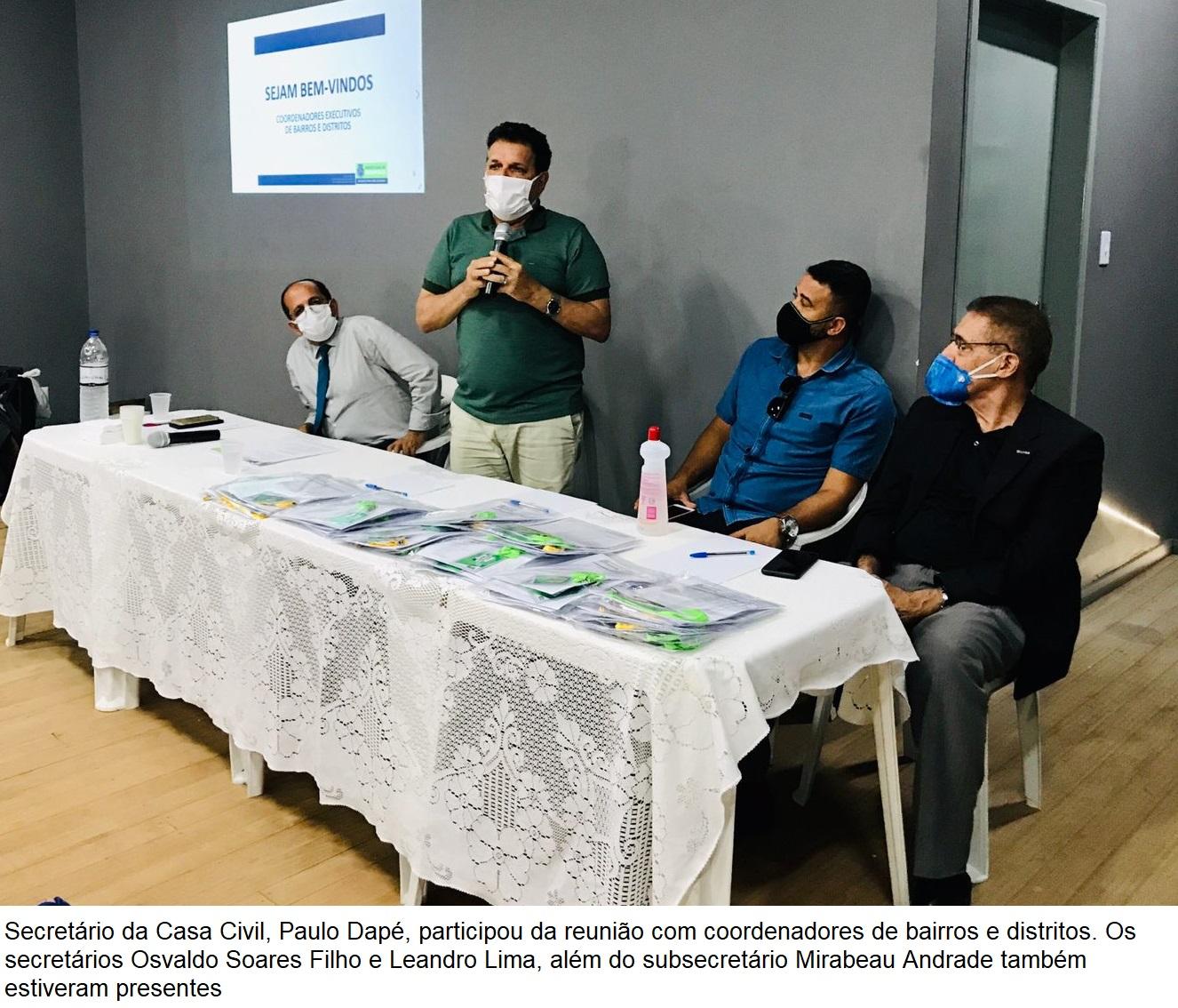 Secretaria de Governo promove reunião com coordenadores de bairros e distritos de Eunápolis 23