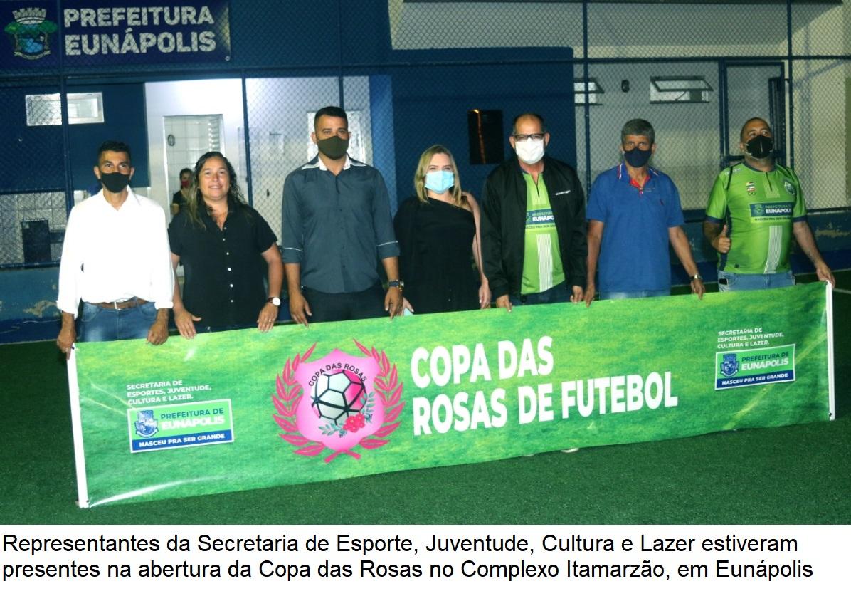"""Secretaria de Esporte realiza abertura do torneio de futebol feminino """"Copa das Rosas"""" em Eunápolis 24"""