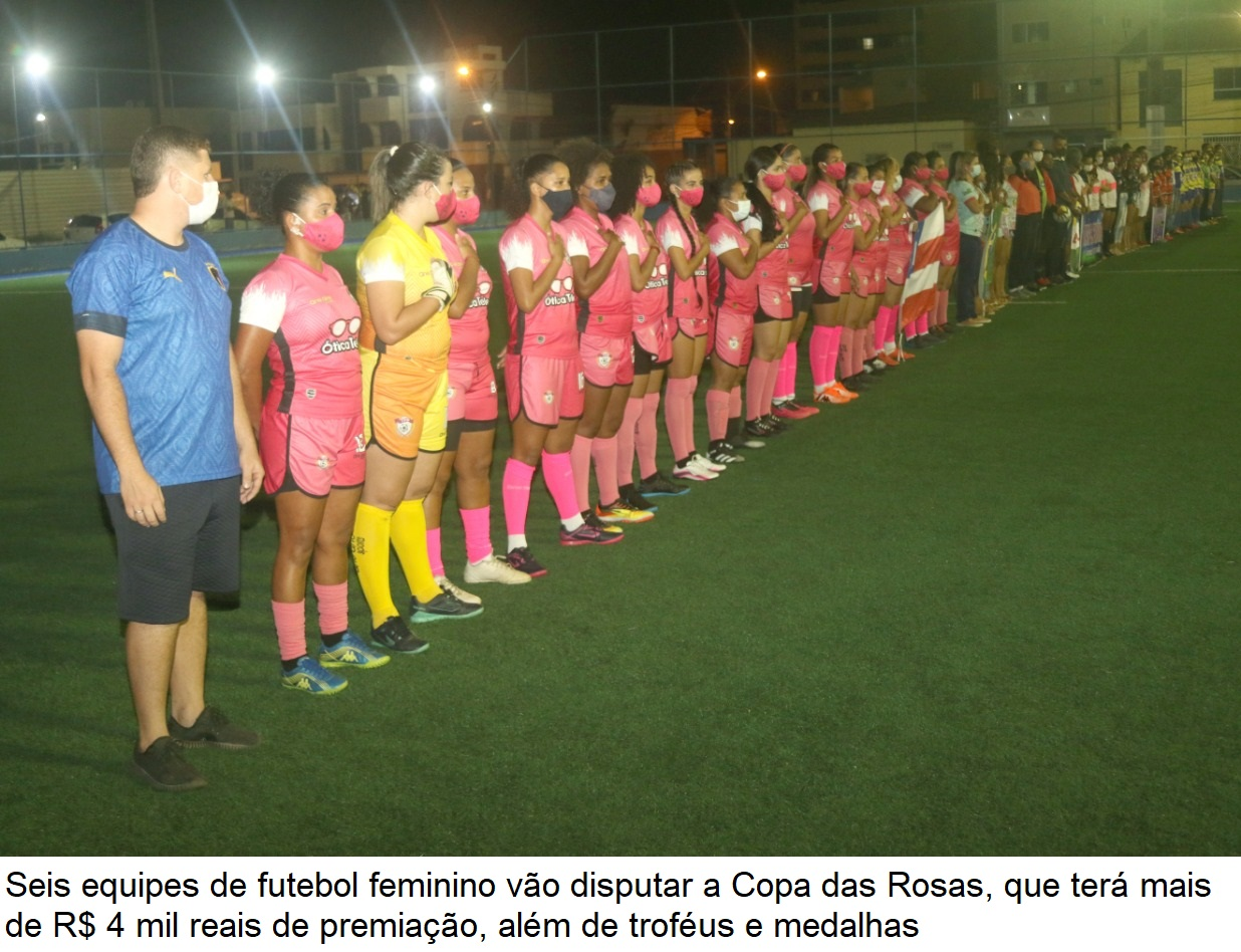 """Secretaria de Esporte realiza abertura do torneio de futebol feminino """"Copa das Rosas"""" em Eunápolis 25"""