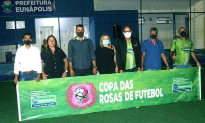 """Secretaria de Esporte realiza abertura do torneio de futebol feminino """"Copa das Rosas"""" em Eunápolis 30"""