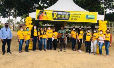 """Setembro Amarelo nos Distritos"""" leva serviços especializados em saúde mental para população da Colônia 73"""