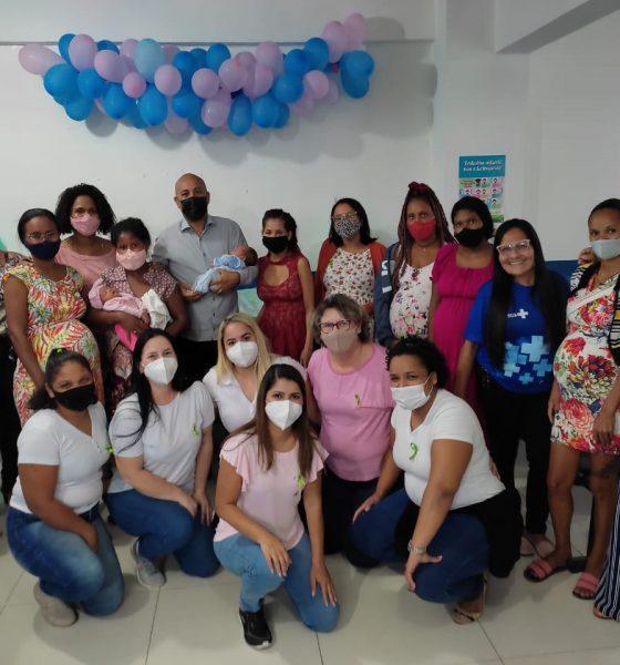 Secretaria de Assistência Social entrega 20 kits de enxoval a gestantes em Eunápolis 25