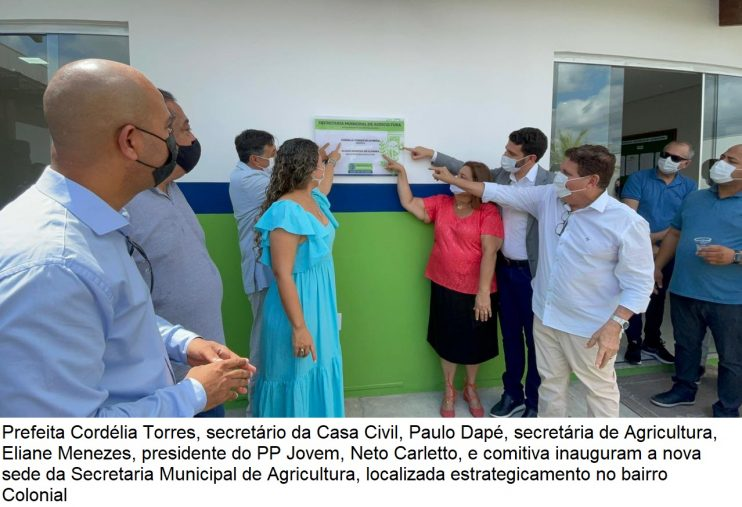 Domingo é marcado por inaugurações e palestra de ex-atleta no município de Eunápolis 37