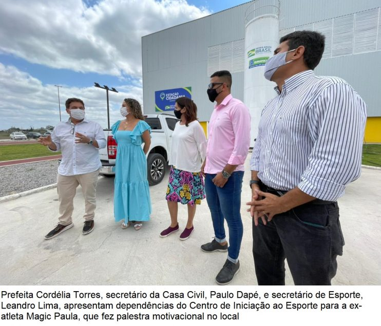 Domingo é marcado por inaugurações e palestra de ex-atleta no município de Eunápolis 40