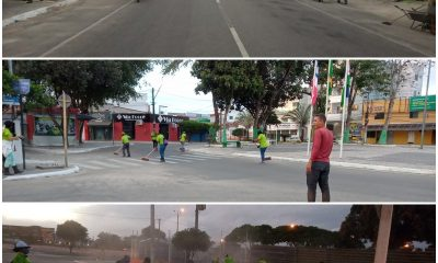 Secretaria de Serviços Públicos realiza ações de limpeza urbana no Centro de Eunápolis 30