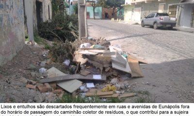 Descarte do lixo é questão de consciência da população do município de Eunápolis 19