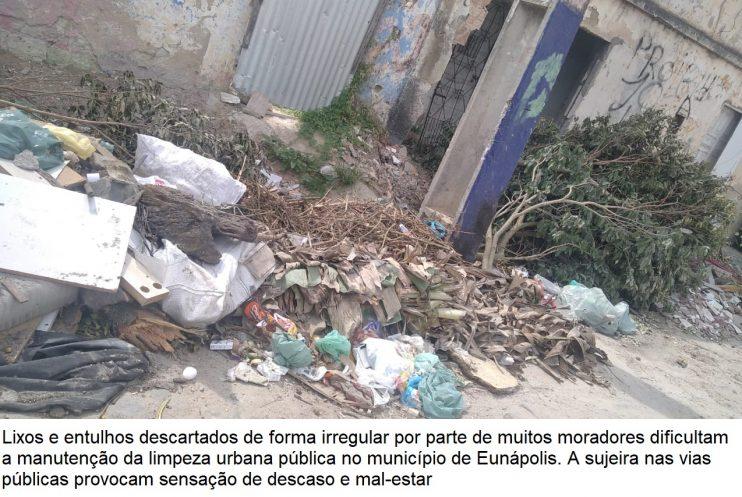 Descarte do lixo é questão de consciência da população do município de Eunápolis 21