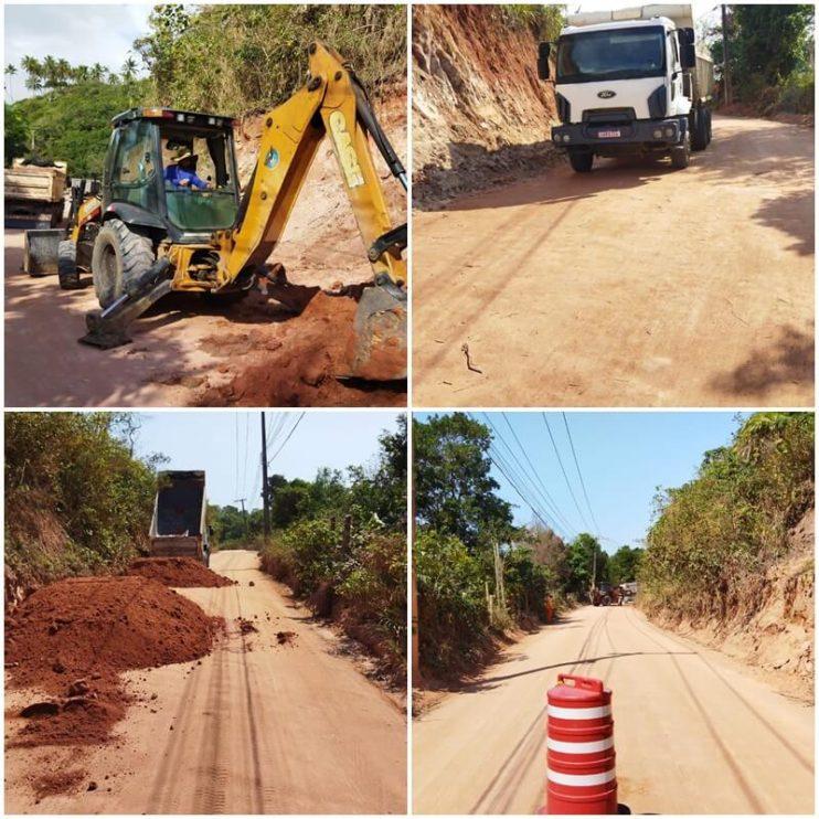 Estrada de Itapororoca recebe manutenção 18