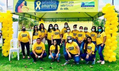 Ação da Secretaria de Saúde de Eunápolis promove SETEMBRO AMARELO em mais um distrito 6