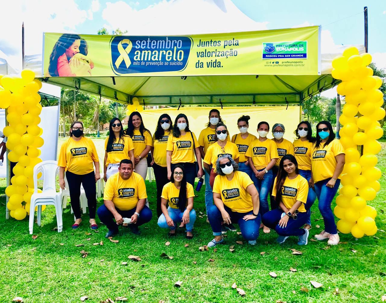 Ação da Secretaria de Saúde de Eunápolis promove SETEMBRO AMARELO em mais um distrito 31