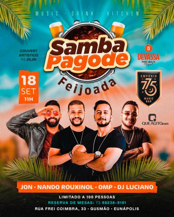 Samba Pagode Feijoada no Empório 775 - Eunápolis-Ba 19