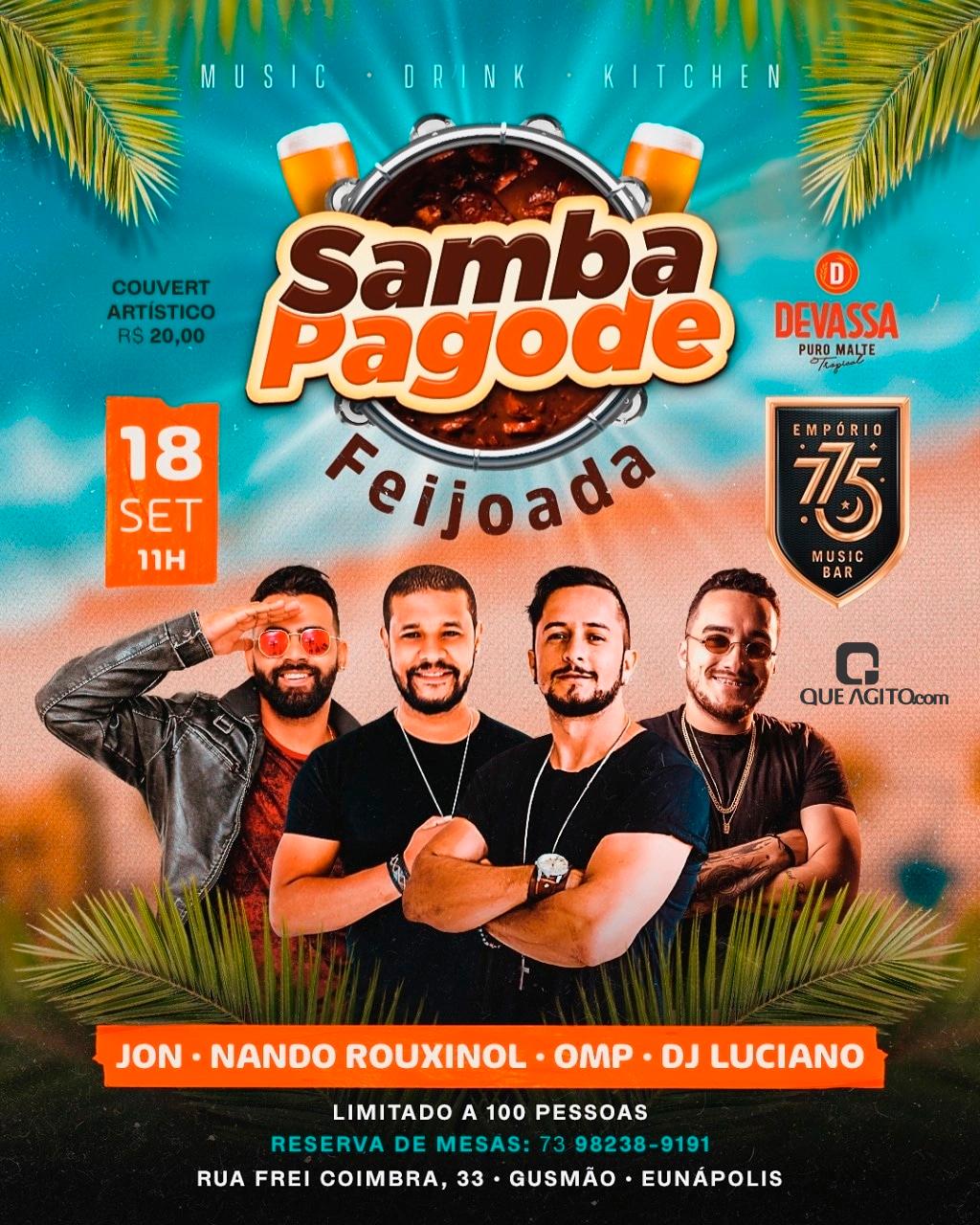 Samba Pagode Feijoada no Empório 775 - Eunápolis-Ba 16