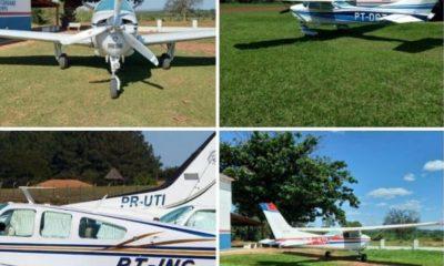 Grupo faz 'arrastão' em aeroporto e foge com aviões do cantor Almir Sater, ex-prefeito e pecuarista de MS 28