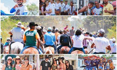 Canavieiras: Centenas de Cavaleiros e amazonas participaram da I Marcha Amigos de Ouricana 8
