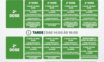 EUNÁPOLIS: CALENDÁRIO SEMANAL DE VACINAÇÃO COVID-19 | DE 25 A 29/10] 18
