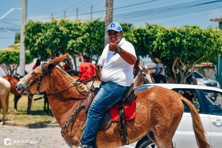 Canavieiras: Centenas de Cavaleiros e amazonas participaram da I Marcha Amigos de Ouricana 97