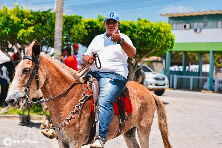 Canavieiras: Centenas de Cavaleiros e amazonas participaram da I Marcha Amigos de Ouricana 98