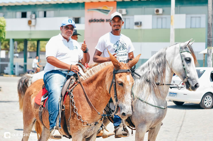 Canavieiras: Centenas de Cavaleiros e amazonas participaram da I Marcha Amigos de Ouricana 102