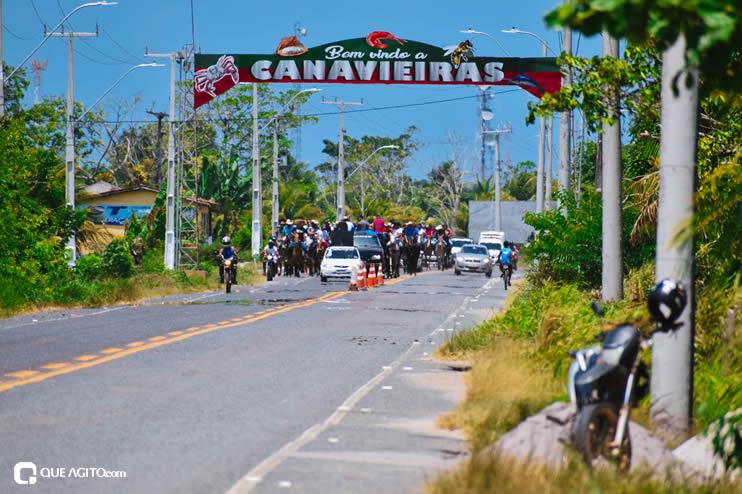 Canavieiras: Centenas de Cavaleiros e amazonas participaram da I Marcha Amigos de Ouricana 125