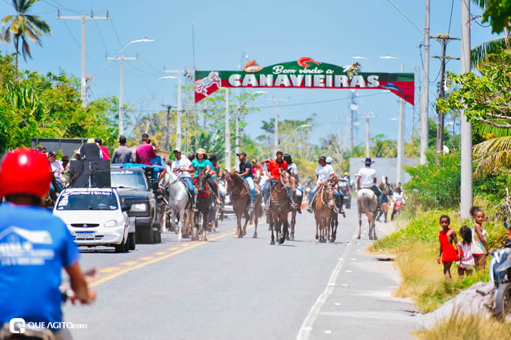 Canavieiras: Centenas de Cavaleiros e amazonas participaram da I Marcha Amigos de Ouricana 128