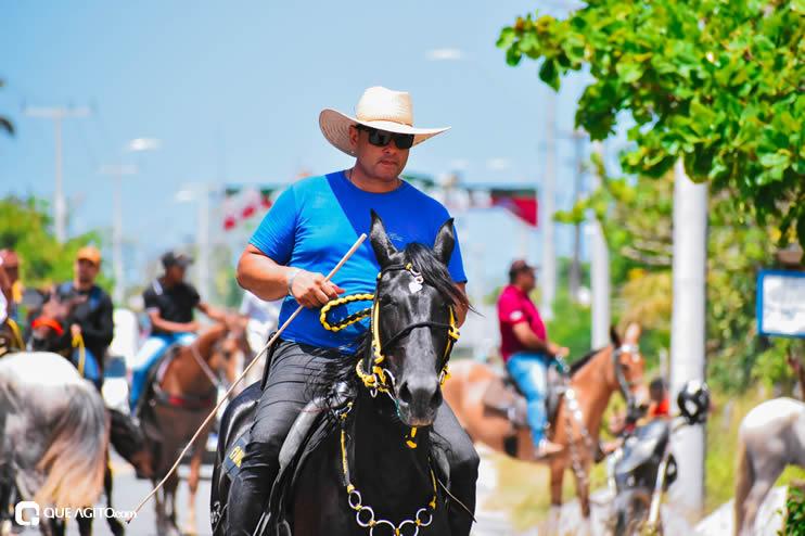 Canavieiras: Centenas de Cavaleiros e amazonas participaram da I Marcha Amigos de Ouricana 130