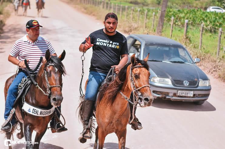 Canavieiras: Centenas de Cavaleiros e amazonas participaram da I Marcha Amigos de Ouricana 151