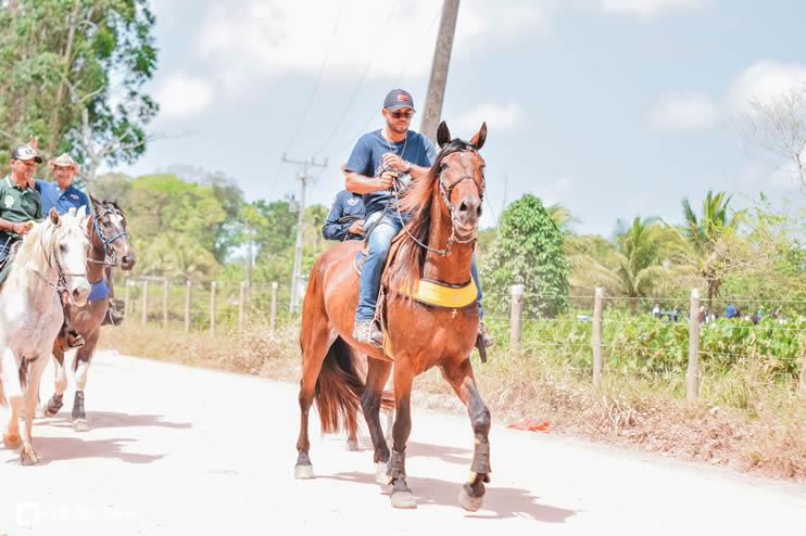 Canavieiras: Centenas de Cavaleiros e amazonas participaram da I Marcha Amigos de Ouricana 166