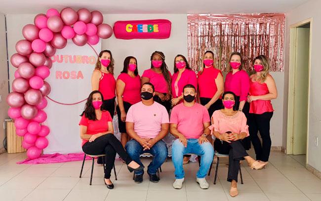 Caeede de Eunápolis faz evento de conscientização 'Outubro Rosa' 23