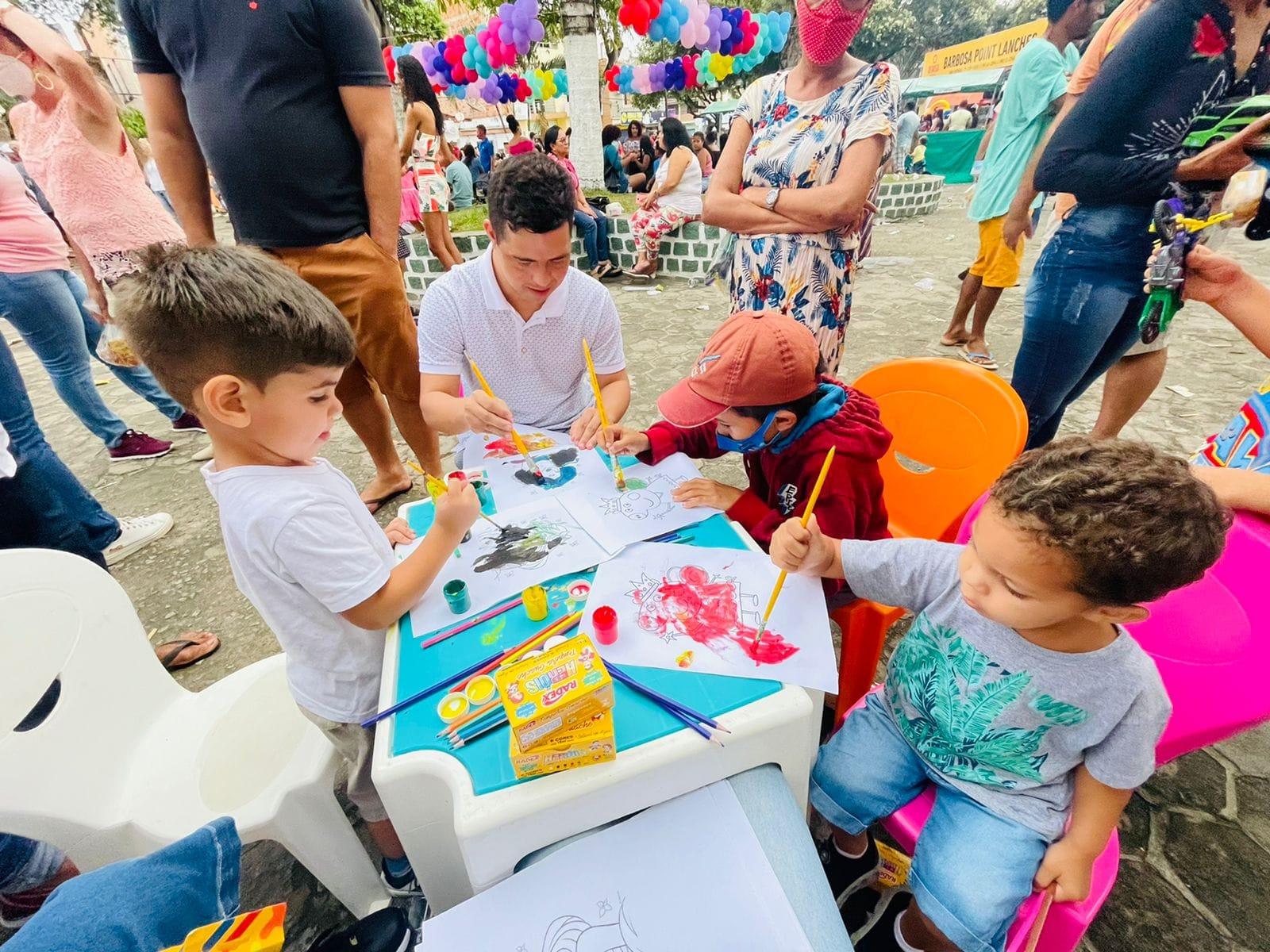 Evento É Dia de Brincar resgata brincadeiras tradicionais e já é considerado maior ação social de Dia das Crianças já realizada em Itagimirim 38