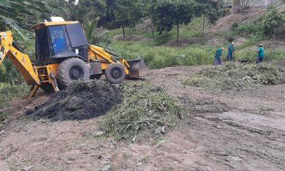 Secretaria de Serviços Públicos realiza limpeza no Córrego do Gravatá para evitar enchentes em Eunápolis 33
