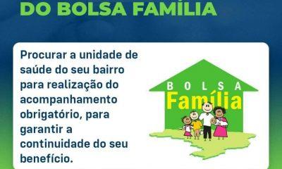 Beneficiários do Bolsa Família devem comparecer às UBSs para garantir continuidade do benefício 9