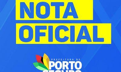 Prefeitura de Porto Seguro emite nota oficial em relação à recente exoneração de servidores municipais nomeados 60