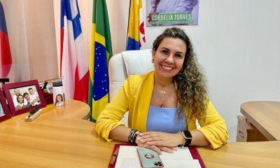 """""""Live com Cordélia"""": prefeita anuncia inauguração do Corpo de Bombeiros e entrega de títulos do REURB 26"""
