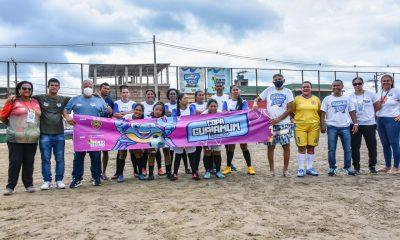 Abertura da Copa Guaiamum Feminina é marcada com show de bola 30