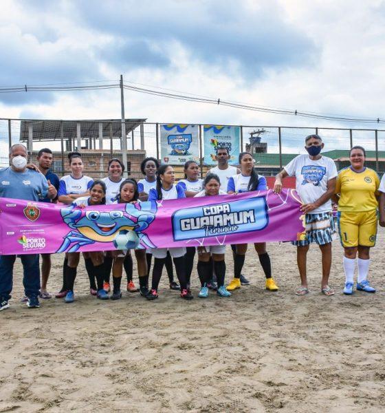 Abertura da Copa Guaiamum Feminina é marcada com show de bola 21