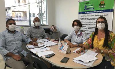 Secretaria de Assistência Social recebe visita de equipe técnica de Salvador 14