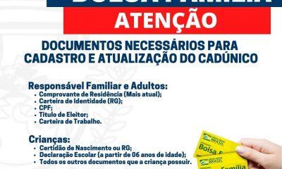 Prefeitura de Eunápolis convoca beneficiários do Bolsa Família que ainda não realizaram atualização cadastral 7