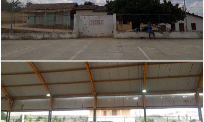 Prefeitura de Guaratinga recupera iluminação das quadras poliesportivas dos povoados 33