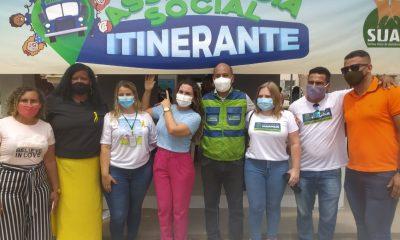 """Assistência Social Itinerante"" leva serviços para moradores do bairro Nacional nesta sexta-feira 28"