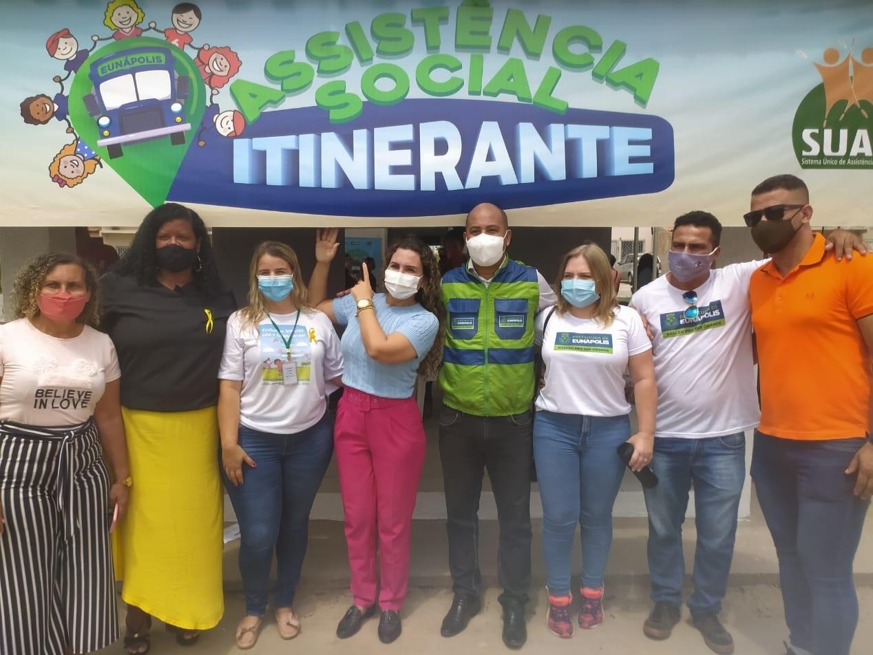 """Assistência Social Itinerante"" leva serviços para moradores do bairro Nacional nesta sexta-feira 21"