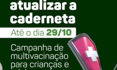 Eunápolis adere campanha de multivacinação para crianças e adolescentes 31