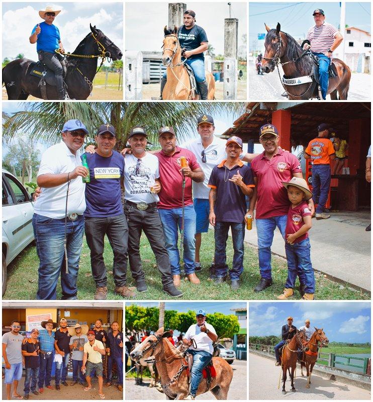 Canavieiras: Centenas de Cavaleiros e amazonas participaram da I Marcha Amigos de Ouricana 32